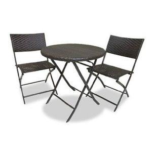 RST Outdoor 3 Piece Bistro Patio Furniture