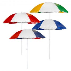 6 by 6 Foot Beach Umbrella by CCS