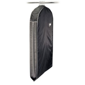 Black 44-Inch Travel Bag For Suits
