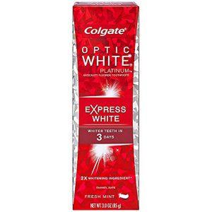 Colgate Optic White Platinum Toothpaste Express White
