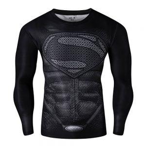 Compression Long Sleeve Workout Shirt For Men
