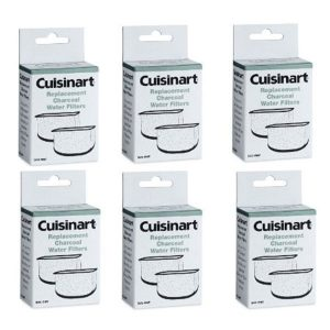 Cuisinart DCC-RWF-6PK (12 Filters) Charcoal Water Filters