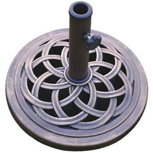 DC America 18-Inch Cast Stone Umbrella Base