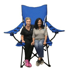 EasyGoProducts Color Oversized Portable Folding Giant Camp Chair