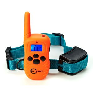 Esky Rechargeable LCD Shock Control Pet Dog Training Collar