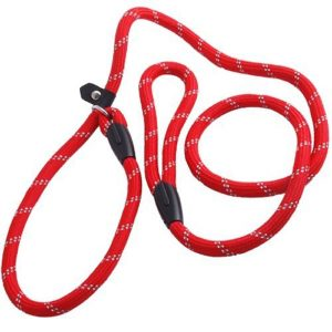 Facilla Pet Dog Nylon Adjustable Loop Slip Leash