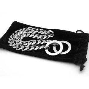 Fancy Metal Slip Chain by Silver Phantom Jewelry