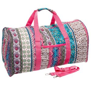 LD Bags Travel Cheer Gym Duffel Bag For Women