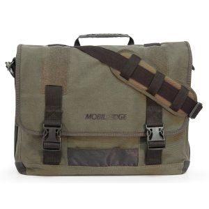 Mobile Edge Eco-Friendly Canvas Messenger Bag For Men