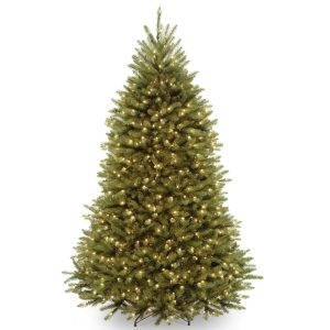 National Tree Clear Lights Dunhill Fir Hinged Tree