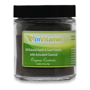 Natural Tooth and Gum Powder with Activated Charcoal