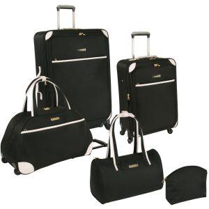 Ninewest 5 Piece Round Trip Luggage Set For Women