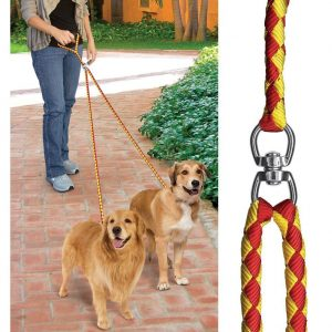 Pet Parade No-Tangle Dual Dog Leash