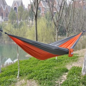 Portable Parachute Nylon Fabric Travel Hammock