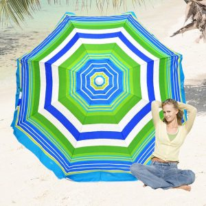 Rio Beach Deluxe Sunshade Umbrella UPF 100+