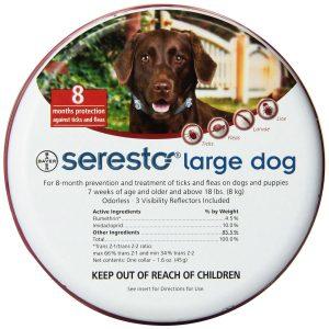 Bayer Seresto Flea and Tick Collar (Large)