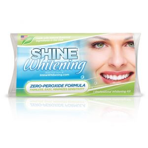 Shine Whitening – Zero Peroxide Teeth Whitening System