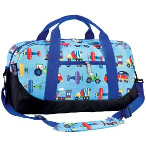 Wildkin Trains Planes & Trucks Duffle Bag For Kids