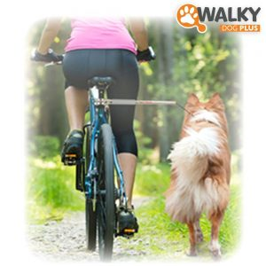 Walky Dog Plus Hands Free Dog Bicycle Exerciser Leash