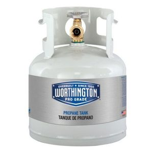 Worthington 281149 1-Gallon Steel Propane Cylinder