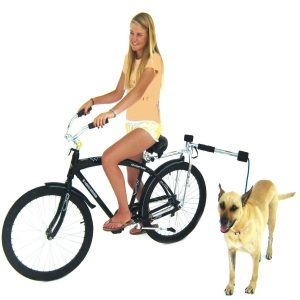Bike Balance Hands Free Dog Jogger Bicycle Leash Kit