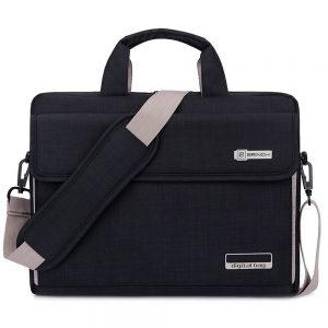 Brinch Oxford Computer Sleeve Messenger Bag For Men
