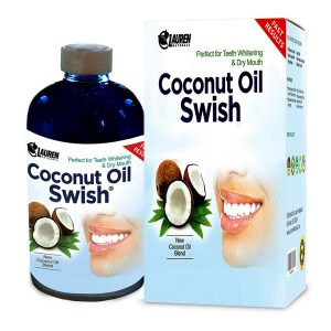 Coconut Oil Swish Teeth Whitening Solution