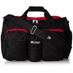 Everest Gym Bag With Wet Pocket For Men
