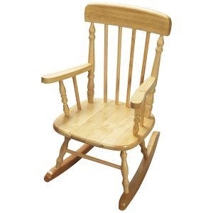 Gift Mark Deluxe Children's Spindle Rocking Chair