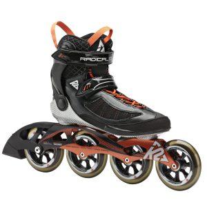 K2 Skate Radical 100 Racing Inline Speed Skates
