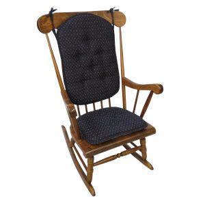 Klear Vu Gripper Twinlakes Outdoor Rocking Chair Cushion Set