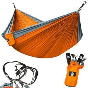 Legit Camping Lightweight Parachute Portable Double Hammock