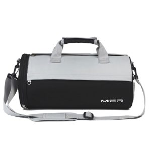 MIER Barrel Travel Sports Bag For Men