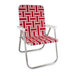Red and White Deluxe Chair