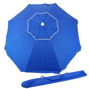 Rio Beach Umbrella with Integrated Sand Anchor