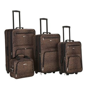 Rockland 4 Piece Luggage Set For Women