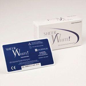 Sheer White! Professional Teeth Whitening Strips