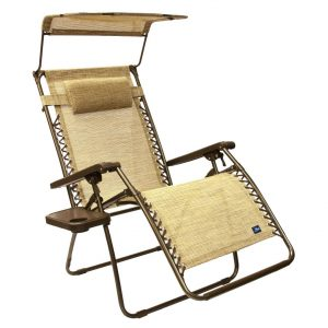 The Bliss Gravity Free Canopy Recliner