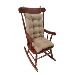 The Gripper Non-Slip Rocking Chair Cushion Set Honeycomb