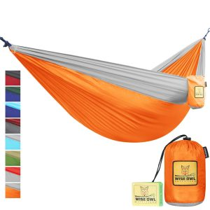Wise Owl Outfitters Single And Double Camping Hammocks