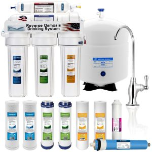 5 Stage Home Drinking Reverse Osmosis System