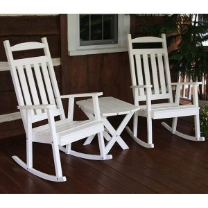 Amish Outdoor Poly Classic Rocking Chair