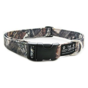 Cozy Critter Camouflage Standard Dog Collar