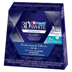 Crest 3D Professional Effects + 3D Whitestrips 1 Hour Express