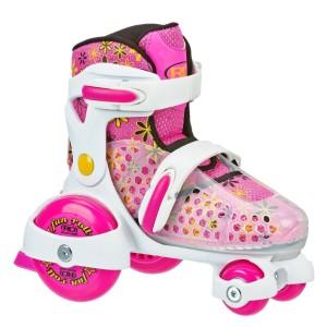 Roller Derby Fun Adjustable Roller Skates For Toddlers