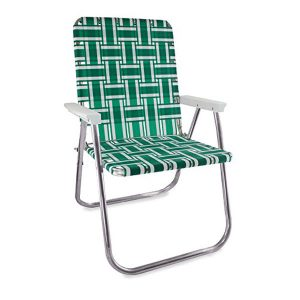 Green and White Deluxe Chair