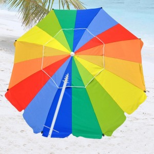 Heavy Duty Fiberglass Beach Umbrella by Shadezilla