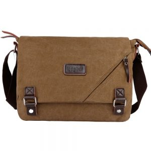 Ibagbar Canvas Messenger Laptop Bag For Men