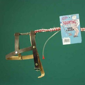 Invisible Dog Leash with Squirter