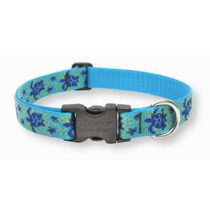 Lupine One Inch Turtle Reef Adjustable Collar